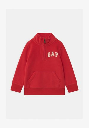 TODDLER BOY MOCK - Fleece jumper - pure red
