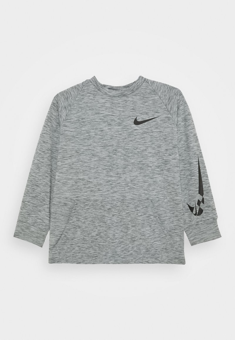 Nike Performance - COMFORT - Fleece jumper - smoke grey/black