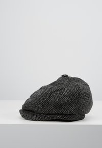 Burton Menswear London - HERRINGBONE BAKER - Beanie - grey - 3