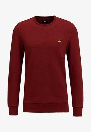 Sweatjacke - burgundy red