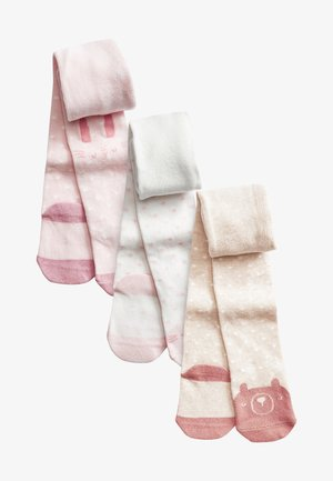 3 PACK - Sukkahousut - light pink