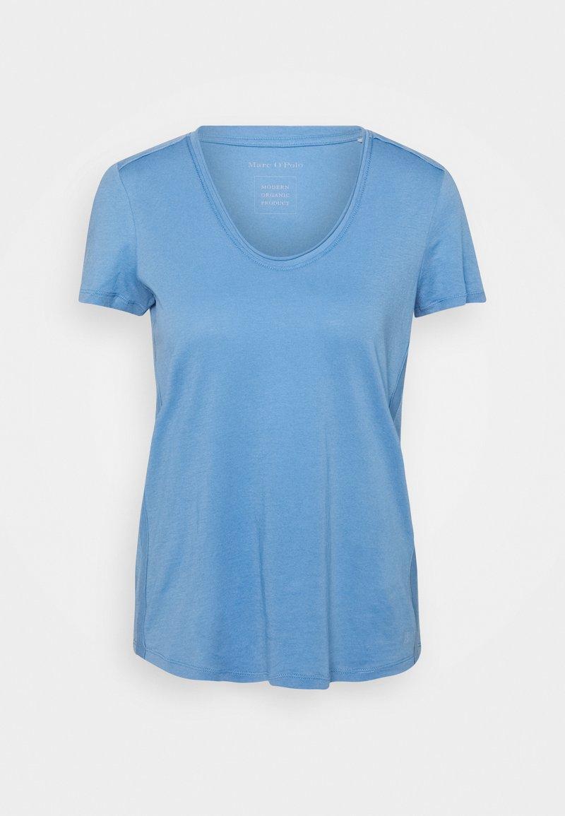 Marc O'Polo - SHORT SLEEVE  - Basic T-shirt - washed cornflower