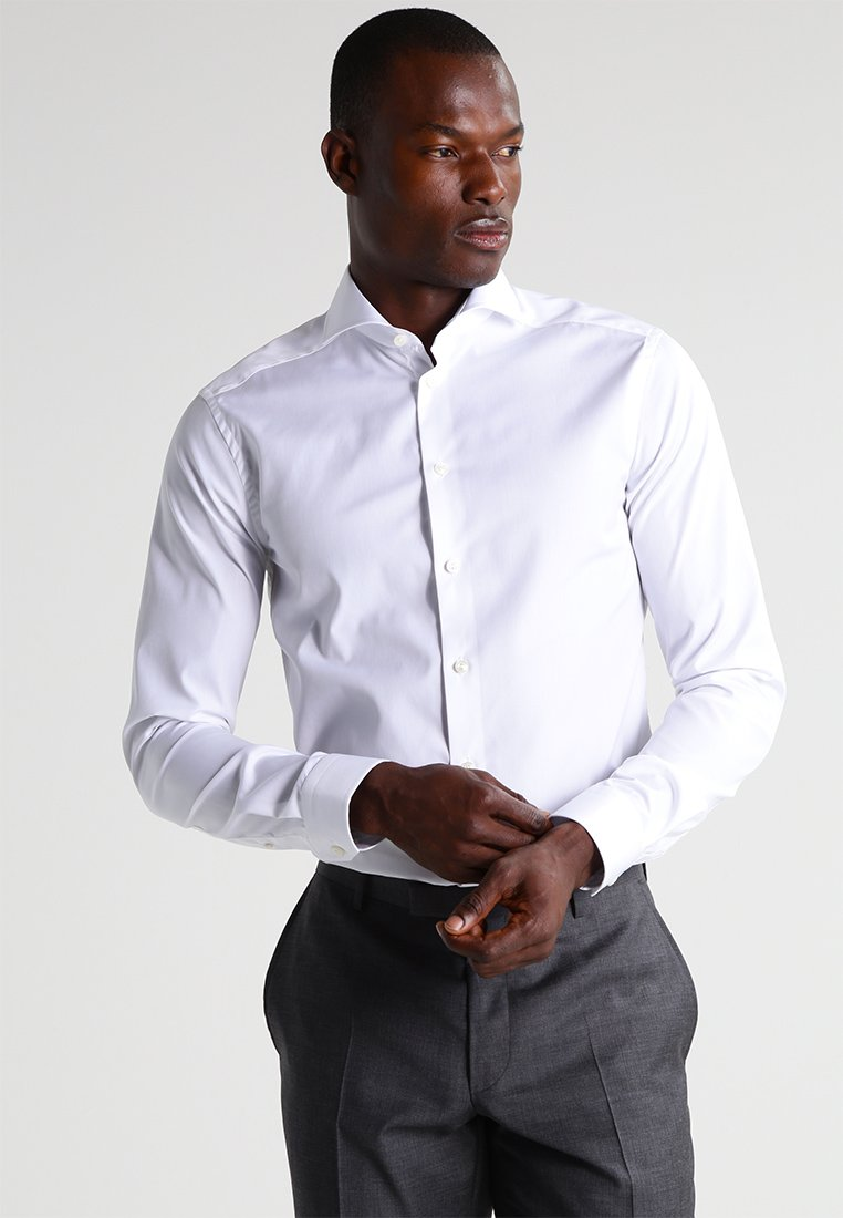 Eton - SUPER SLIM FIT - Camicia elegante - white