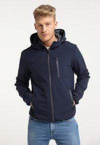 Mo - Outdoor jacket - marine - 0