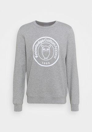 BADGE - Sweatshirt - grey melange