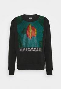 Just Cavalli - FELPA - Mikina - black - 0