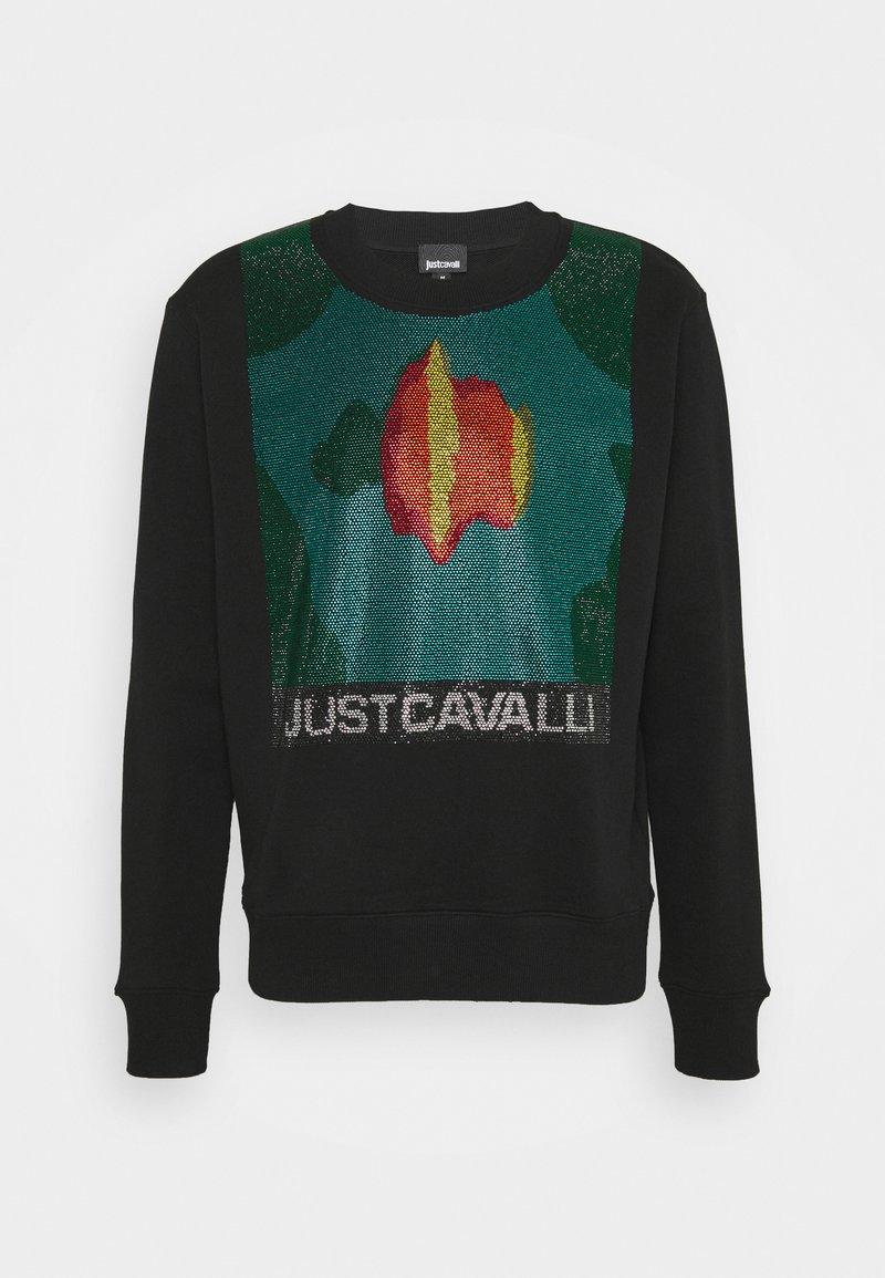 Just Cavalli - FELPA - Mikina - black