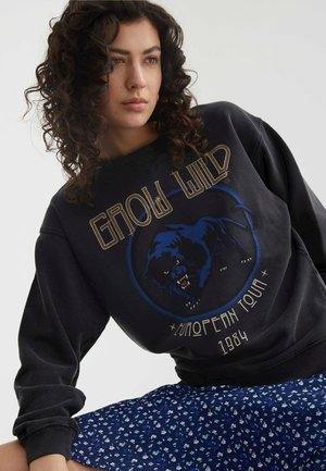 GROW WILD - Sweater - dark grey