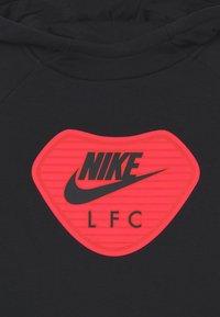Nike Performance - LIVERPOOL FC HOOD UNISEX - Club wear - black/light crimson - 2