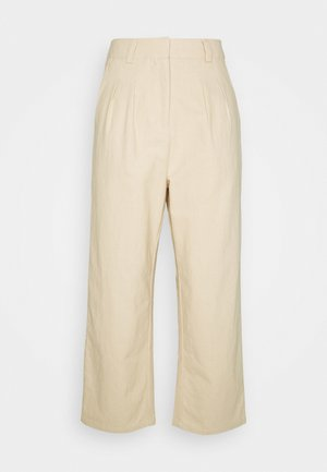 7/8 PANT - Trousers - beige
