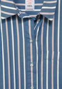 Cecil - MIT STREIFEN MUSTER - Button-down blouse - blau - 4