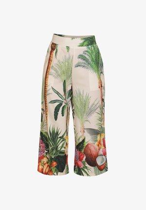 IZIA CULOTTE - Trousers - tropical print
