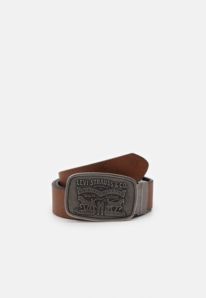 REVERSIBLE BRAVO - Belt - regular black