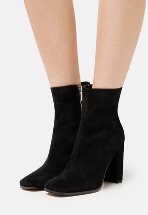 MUSIMON - High heeled ankle boots - black