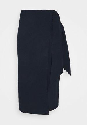 DIENEKE - Pencil skirt - indigo