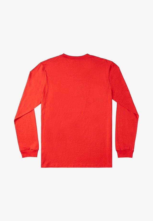 DINI  - Longsleeve - racing red