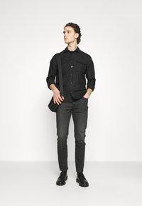 Lee - AUSTIN - Jeans straight leg - dark crosby - 1