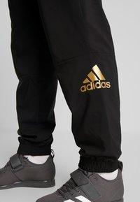 adidas Performance - SID - Teplákové kalhoty - black - 5