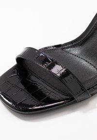 Public Desire - BONUS - High heeled sandals - black - 2