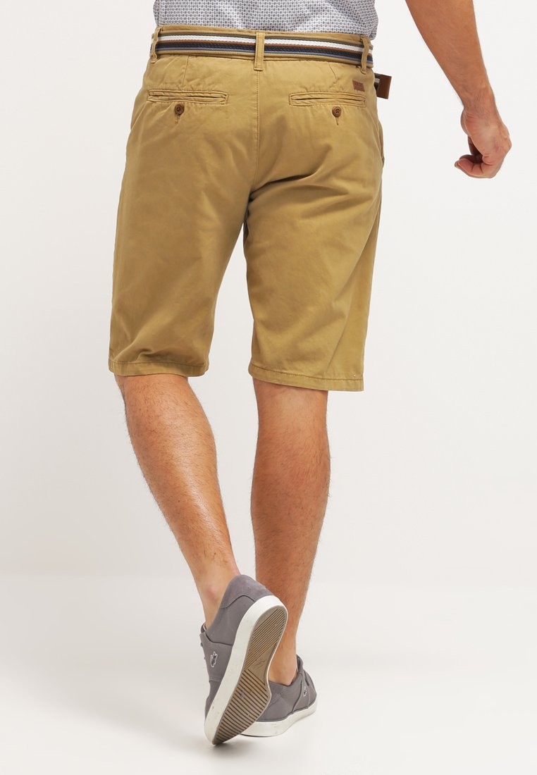 INDICODE JEANS FREDERICA - Shorts - army