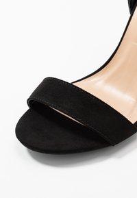 Dorothy Perkins - BLOCK  - Sandaler med høye hæler - black - 2