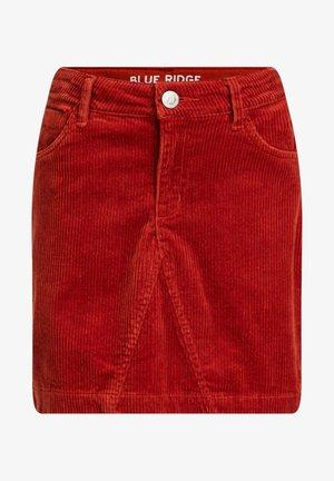 VAN CORDUROY - Mini skirt - orange