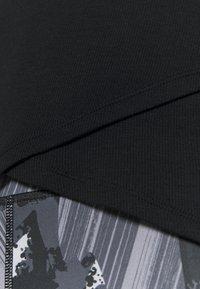 GAP - WRAP FRONT - Maglietta a manica lunga - true black - 5