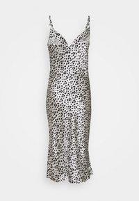 Closet - CUT SLIP DRESS - Cocktail dress / Party dress - ivory - 1