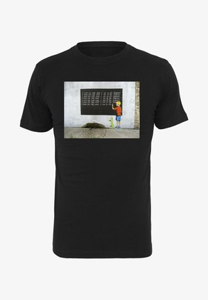 BANKSY - T-shirt imprimé - black