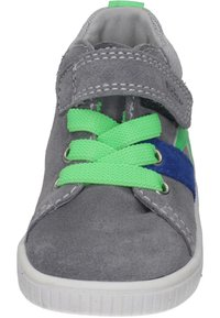 Richter - Touch-strap shoes - stone/flint/new green - 4