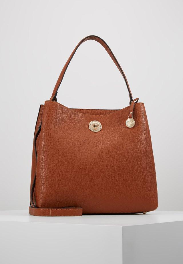 MAXIMA - Handbag - cognac