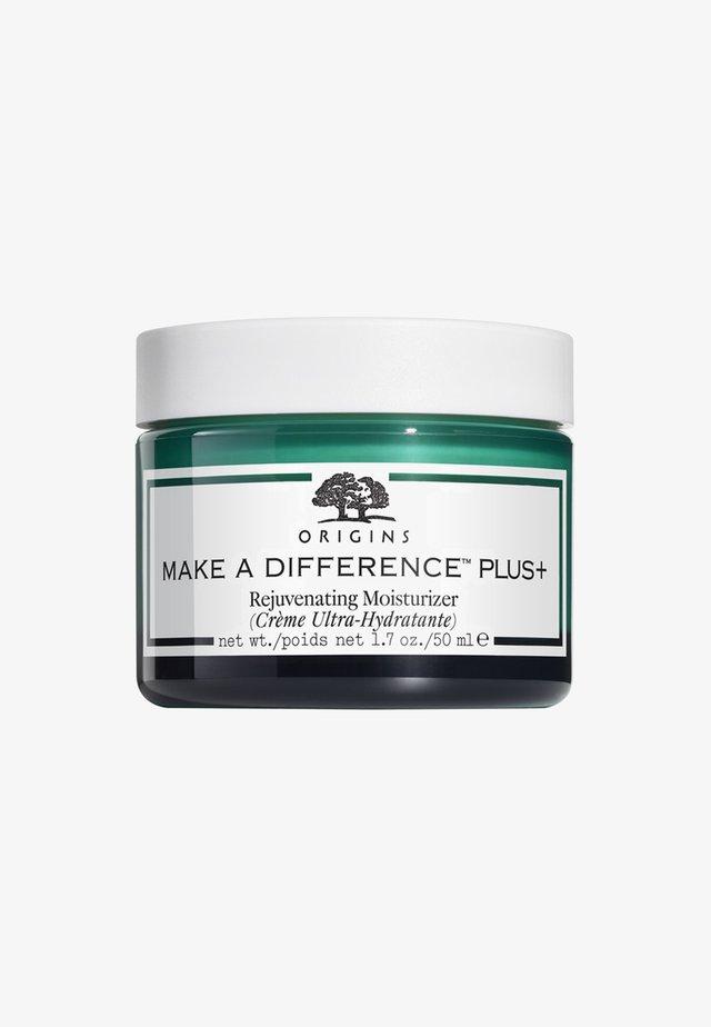 MAKE A DIFFERENCE PLUS + REJUVENATING MOISTURIZER 50ML - Face cream - -