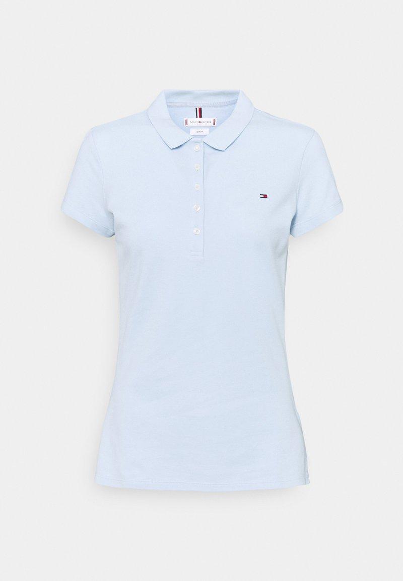 Tommy Hilfiger - SLIM - Poloskjorter - blue
