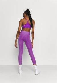 Nike Performance - ONE LUXE CROP - Leggings - wild berry - 2