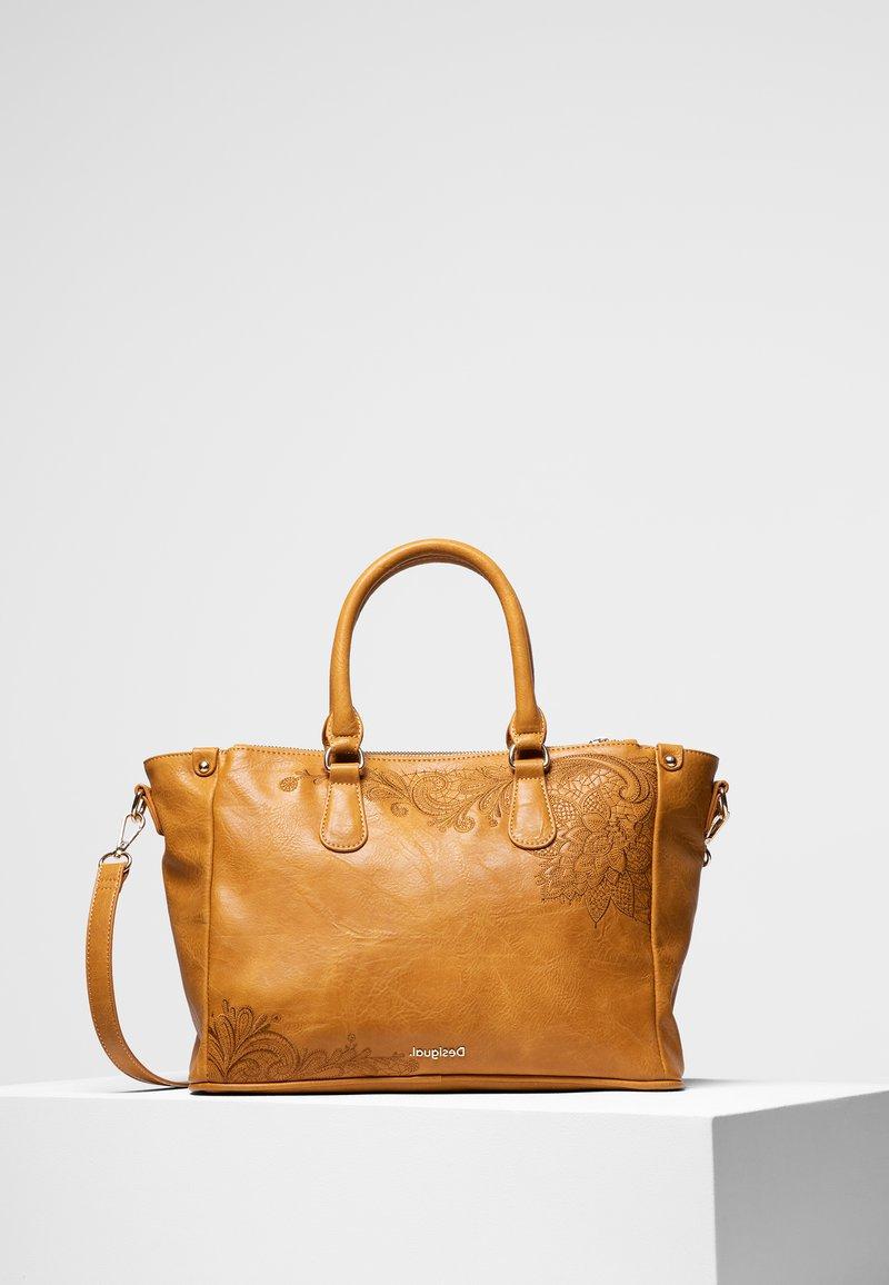 Desigual - BOLS_MARTINI SAFI - Handbag - yellow