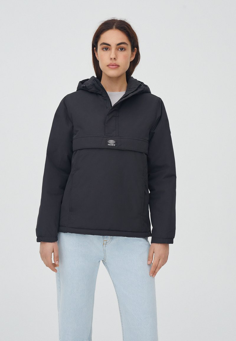 PULL&BEAR - Giacca invernale - black