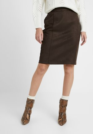 VMDONNADINA SKIRT - Blyantnederdel / pencil skirts - coffee bean