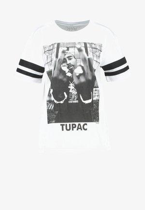 2PAC - Printtipaita - white