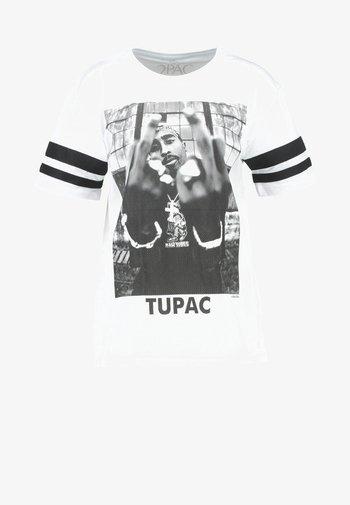 2PAC - Print T-shirt - white