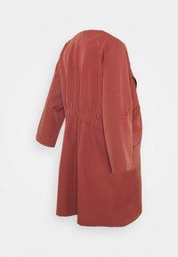Pieces Maternity - PCMPAIGE COATIGAN - Short coat - apple butter - 1