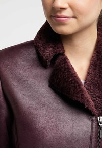 Petrol Industries - Faux leather jacket - zinfandel - 3