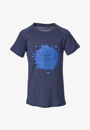 EARTH - T-shirt med print - navy