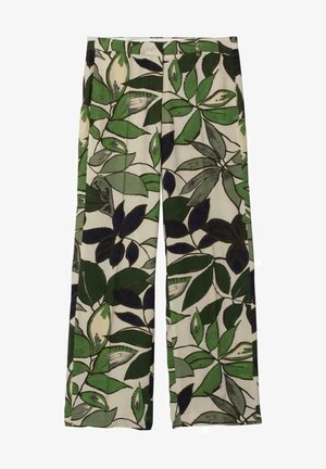 MIT LEAF-PRINT - Trousers - multi