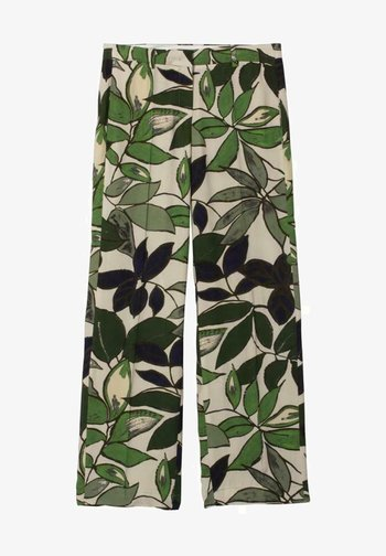 MIT LEAF-PRINT - Trousers - multi