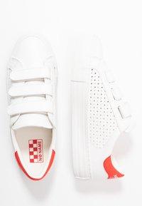 No Name - ARCADE STRAPS - Trainers - white/poppy - 3