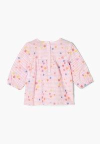 s.Oliver - Long sleeved top - light pink stripes flowers - 1