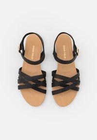 Anna Field Wide Fit - Sandals - black - 5