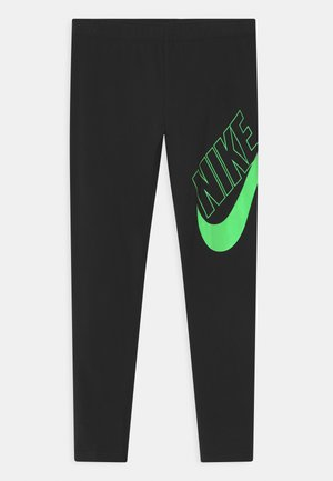 FAVORITES - Leggings - Trousers - black/vapor green