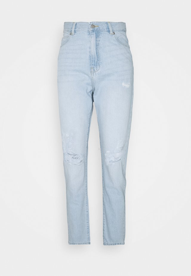 NORA - Jeans Tapered Fit - superlight blue ripped