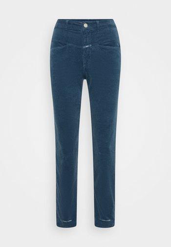 PEDAL PUSHER - Trousers - blue slate